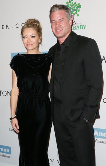 Rebecca Gayheart and Eric Dane were dressed in black for the Baby2Baby Gala.