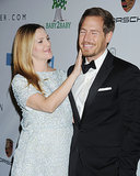 Drew Barrymore and Will Kopelman shared a sweet moment at the Baby2Baby Gala.