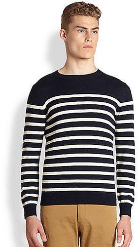 A.P.C. Striped Merino Wool Sweater