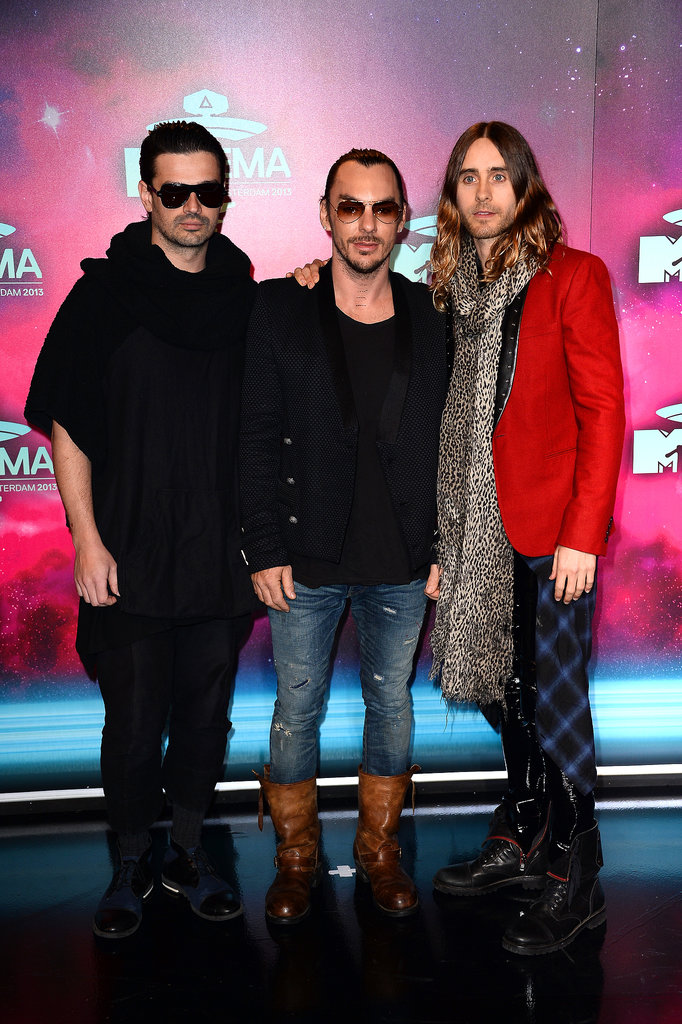 Thirty Seconds to Mars attended the MTV EMAs.