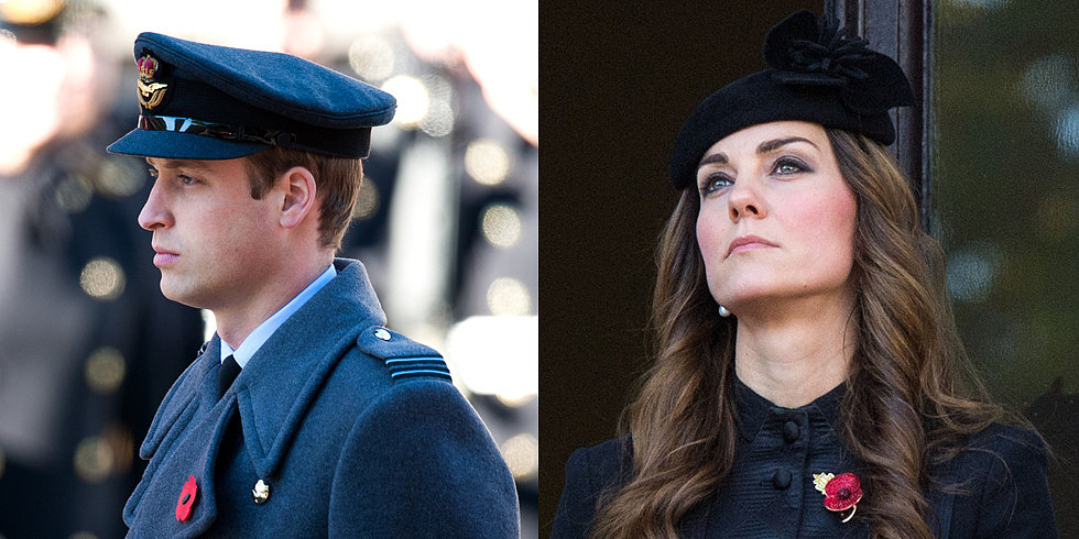 Will and Kate Attend a Moving Remembrance Day Tribute