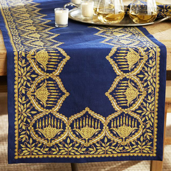 celebrate in style chic hanukkah decor shopstyle notes