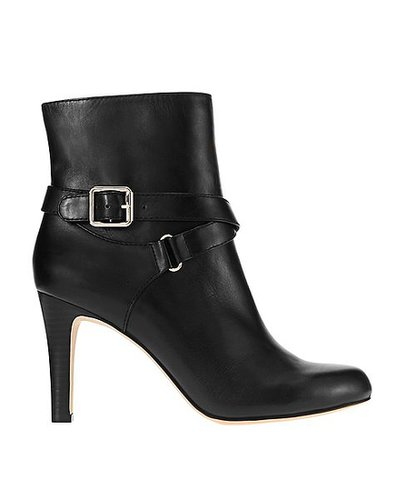 Marlow Leather Buckle Bootie
