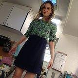 Gillian Jacobs gave credit where it was due for her Rachel Antonoff designs. Source: Instagram user giliianjacobs