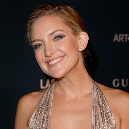 Kate Hudson Makes DIY Face Masks