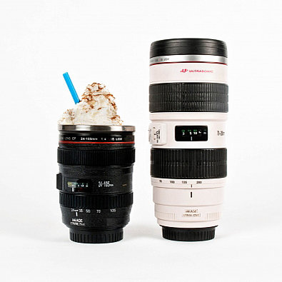 Camera-Lens Mug