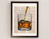 Vintage Scotch Poster ($10)