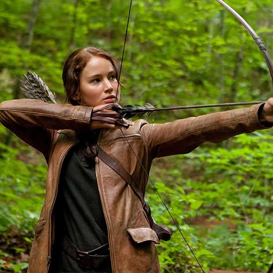 Video of Katniss Everdeen in The Hunger Games