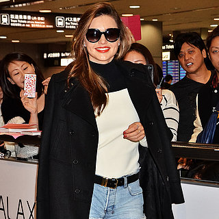 Miranda Kerr at the Airport in Japan