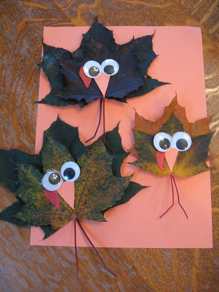 Maple Leaf Turkeys