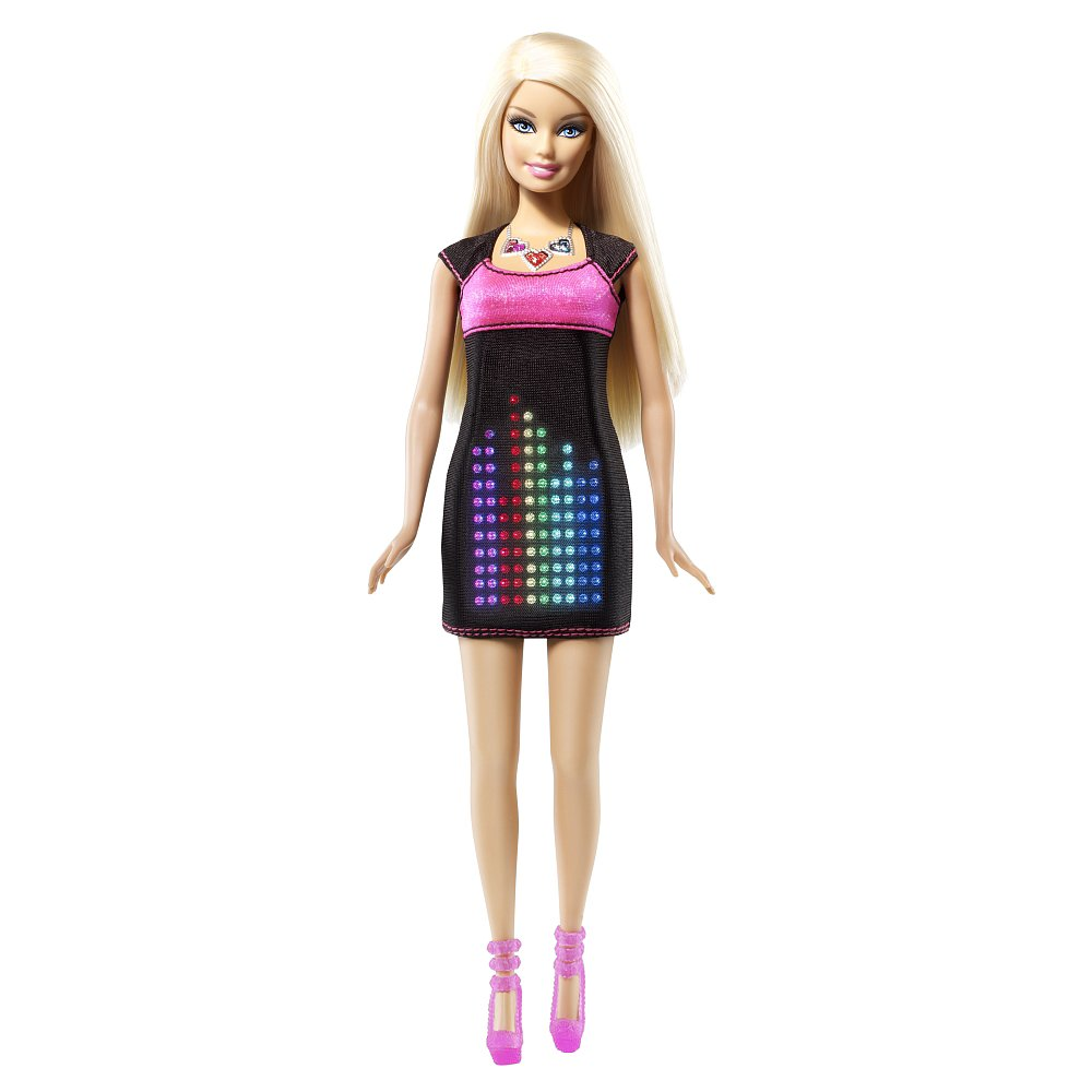 For 6-Year-Olds: Barbie Digital Dress Doll