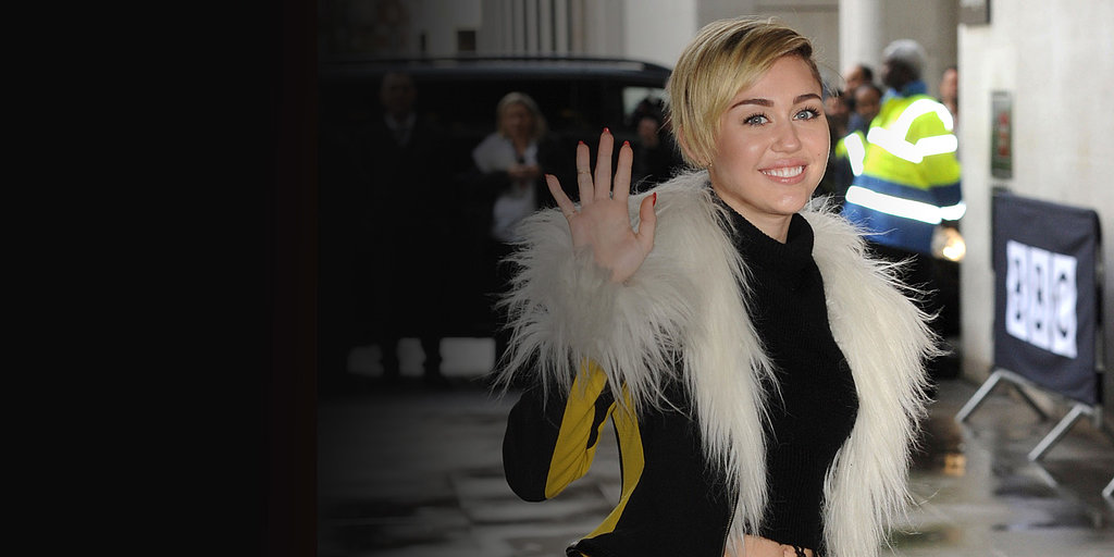 "Miley Gets Back to Work After Her ""Blur"" of a Weekend"