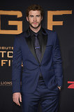 Liam Hemsworth attended the German premiere of The Hunger Games: Catching Fire.