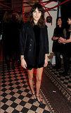 Alexa Chung at the Tunnel of Love Fundraiser.