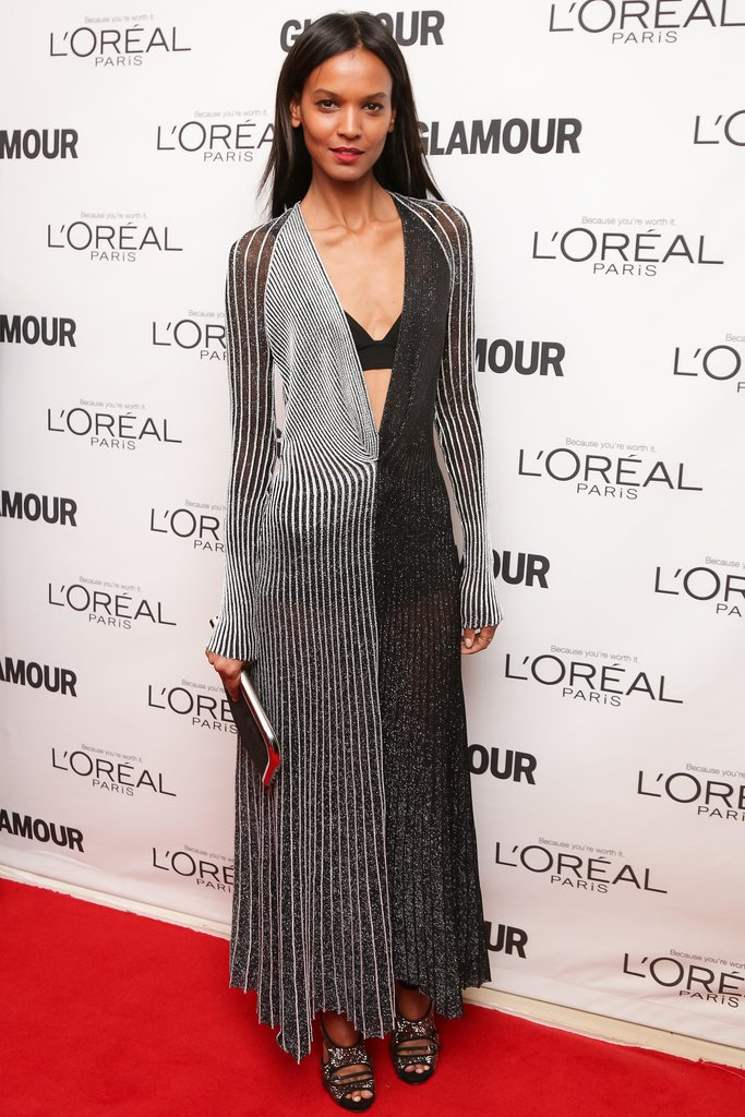 Liya Kebede in Proenza Schouler at the Glamour Women of the Year Awards.