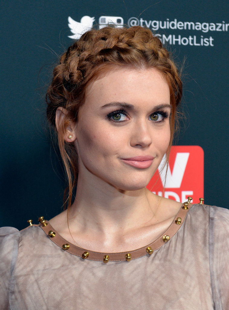 Who she is: Holland Roden How you know her: As Lydia Martin on Teen Wolf.  Why we love her: Holland is the boho best friend we always wish we had. Her braids are incredible, her curls are better, and her looks always garner a double-take from us.