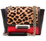 Diane von Furstenberg 440 Mini Leopard Haircalf Bag in Leopard ($350)