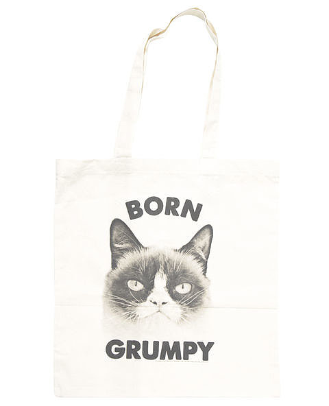 Grumpy Cat Tote ($9, originally $13)