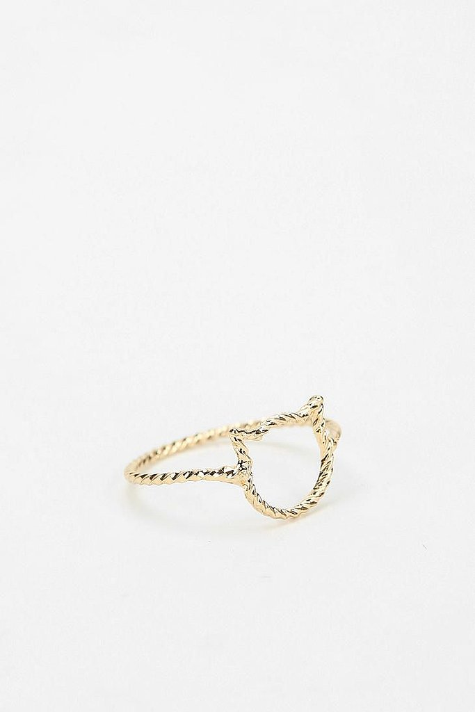 Delicate Open Ring ($8)