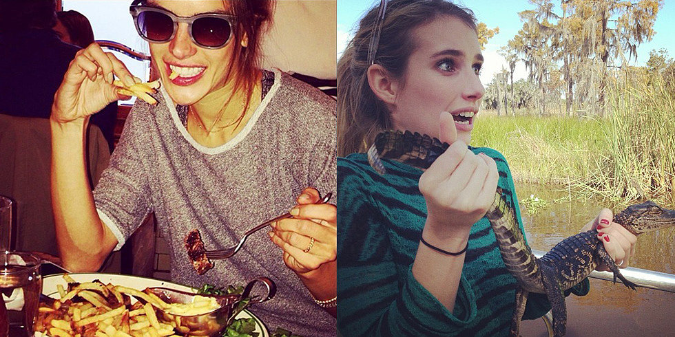 Steak, Swamps, and More of the Week's Cute Celebrity Candids
