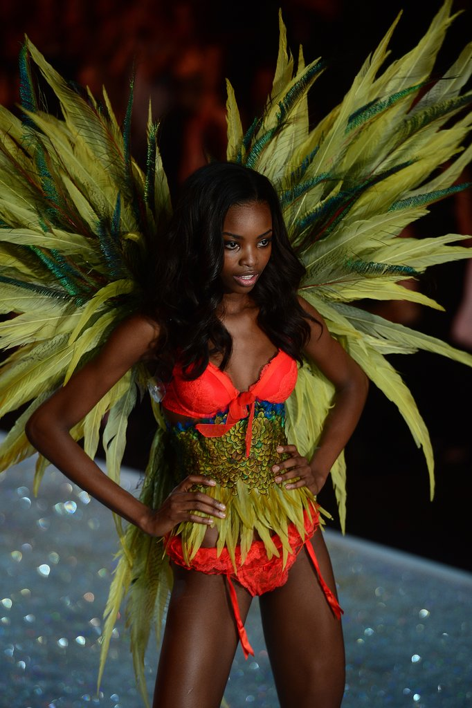 Maria Borges dazzled on the runway.