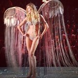 We got swept away by Constance Jablonski's cascading wings. Source: Instagram user constjablonski