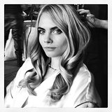 Cara Delevingne sat pretty for the camera. Source: Instagram user kristeningersoll