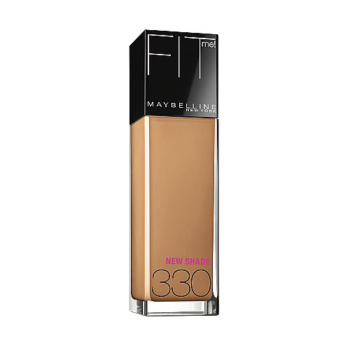 If you're not a fan of heavy coverage but a powder is too light, reach for Maybelline Fit Me! Liquid SPF 18 Foundation ($8). It's the ideal medium coverage, and the line covers a wide range of skin tones.