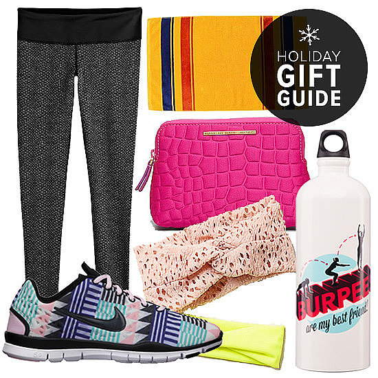 Do you have a fashionable friend who always carefully plans out her gym outfits? Then look no further than this POPSUGAR Fitness gift guide. They've found a few cute, luxe items made for sweating it out (or for throwing on afterward).