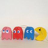 Pac-Man Ornaments
