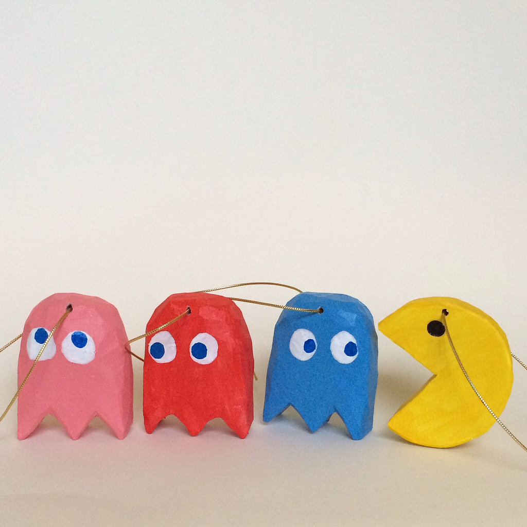 Pac-Man Ornaments