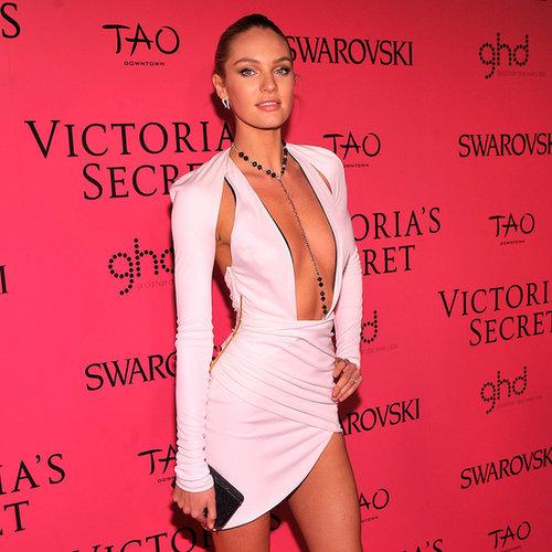 Candice Swanepoel Victoria's Secret Fashion Show Afterparty