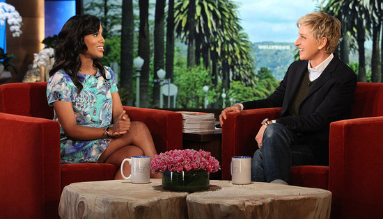 Kerry Washington Is Adorably Shy About Her Fame