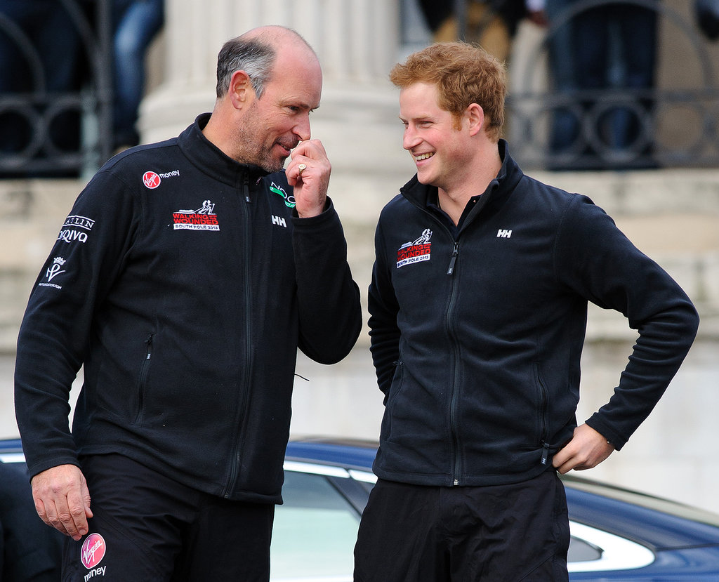 Prince Harry Is Ready to Race to the South Pole