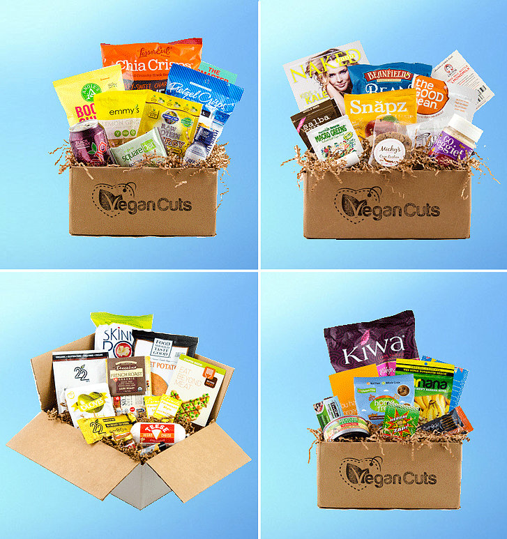 Vegan Cuts Monthly Snack Box
