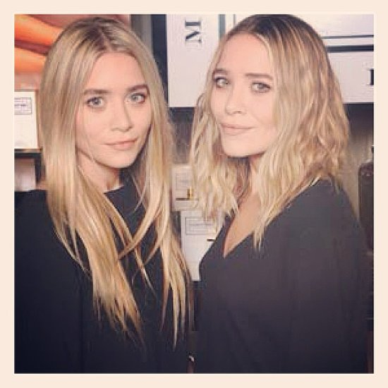Mary-Kate Olsen chopped her hair into a gorgeously shaggy lob, and Women's Wear Daily shared the first snap with us. Source: Instagram user womensweardaily