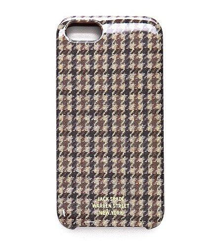 Jack Spade iPhone 5 Houndstooth Case