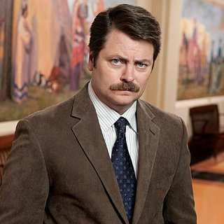 Ron Swanson Without Mustache