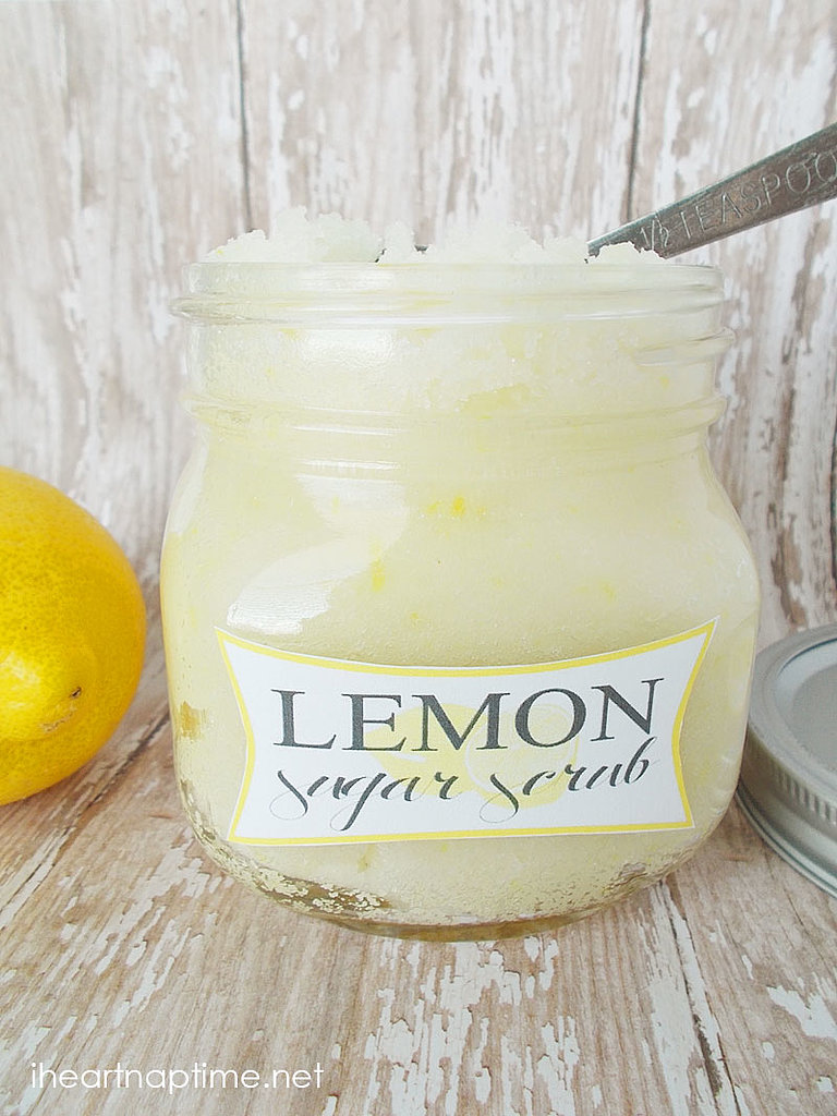 Lemon Sugar Scrub