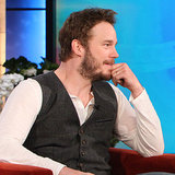 Chris Pratt Interview on The Ellen Show Nov. 2013 | Video