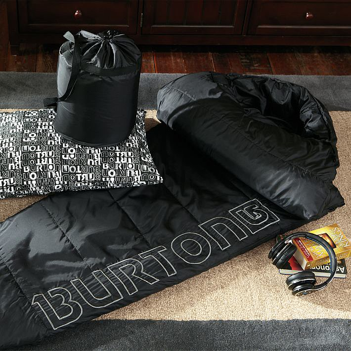 For 9-Year-Olds: Burton Sleeping Bag Black