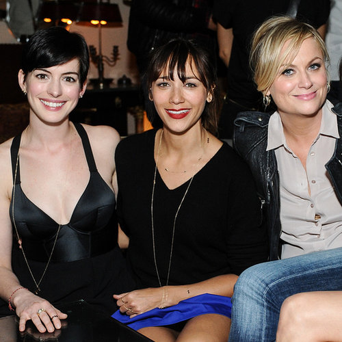 Anne Hathaway With Rashida Jones and Amy Poehler