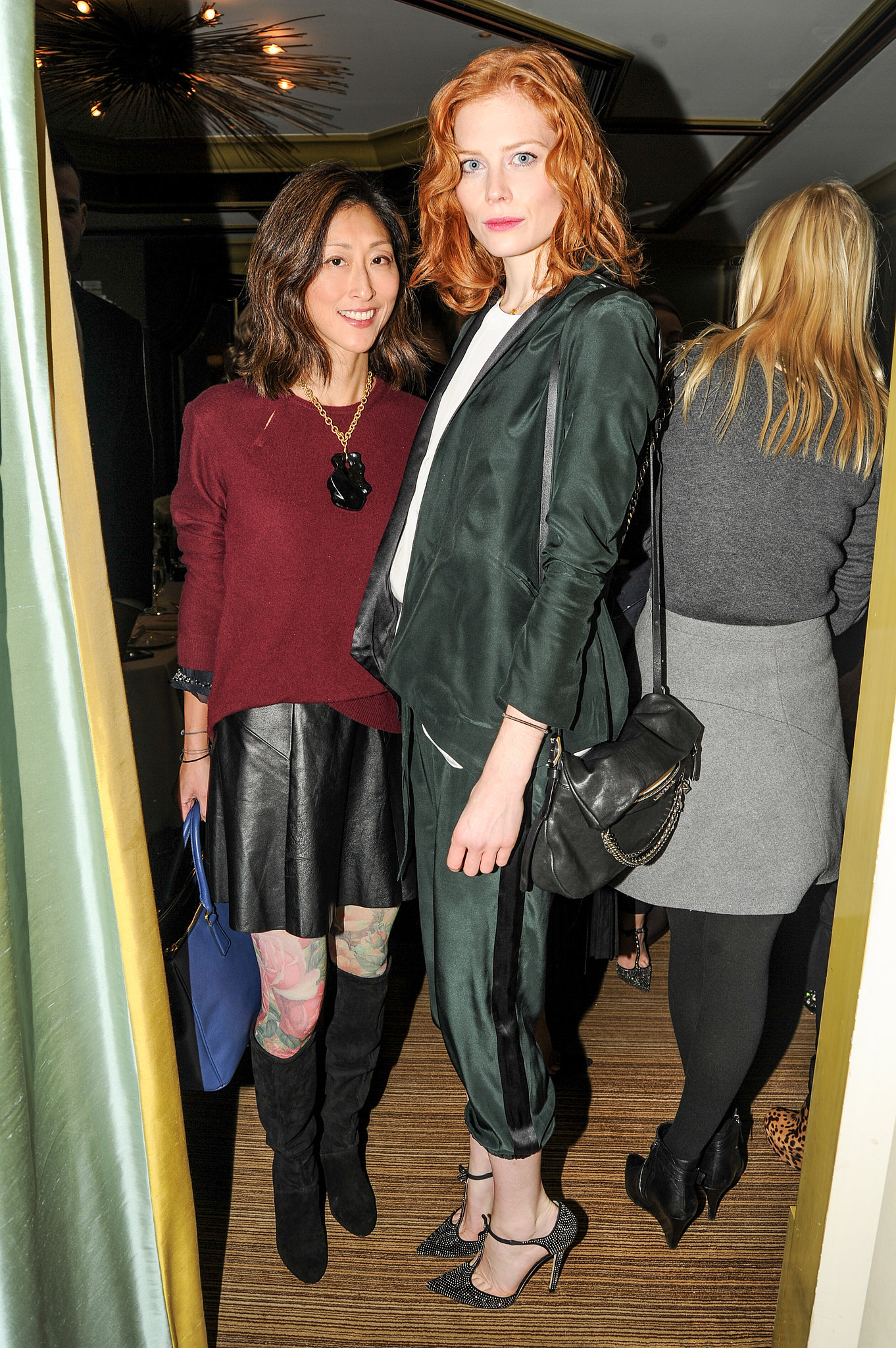 Jessica Joffe at Vogue and Jimmy Choo's luncheon.