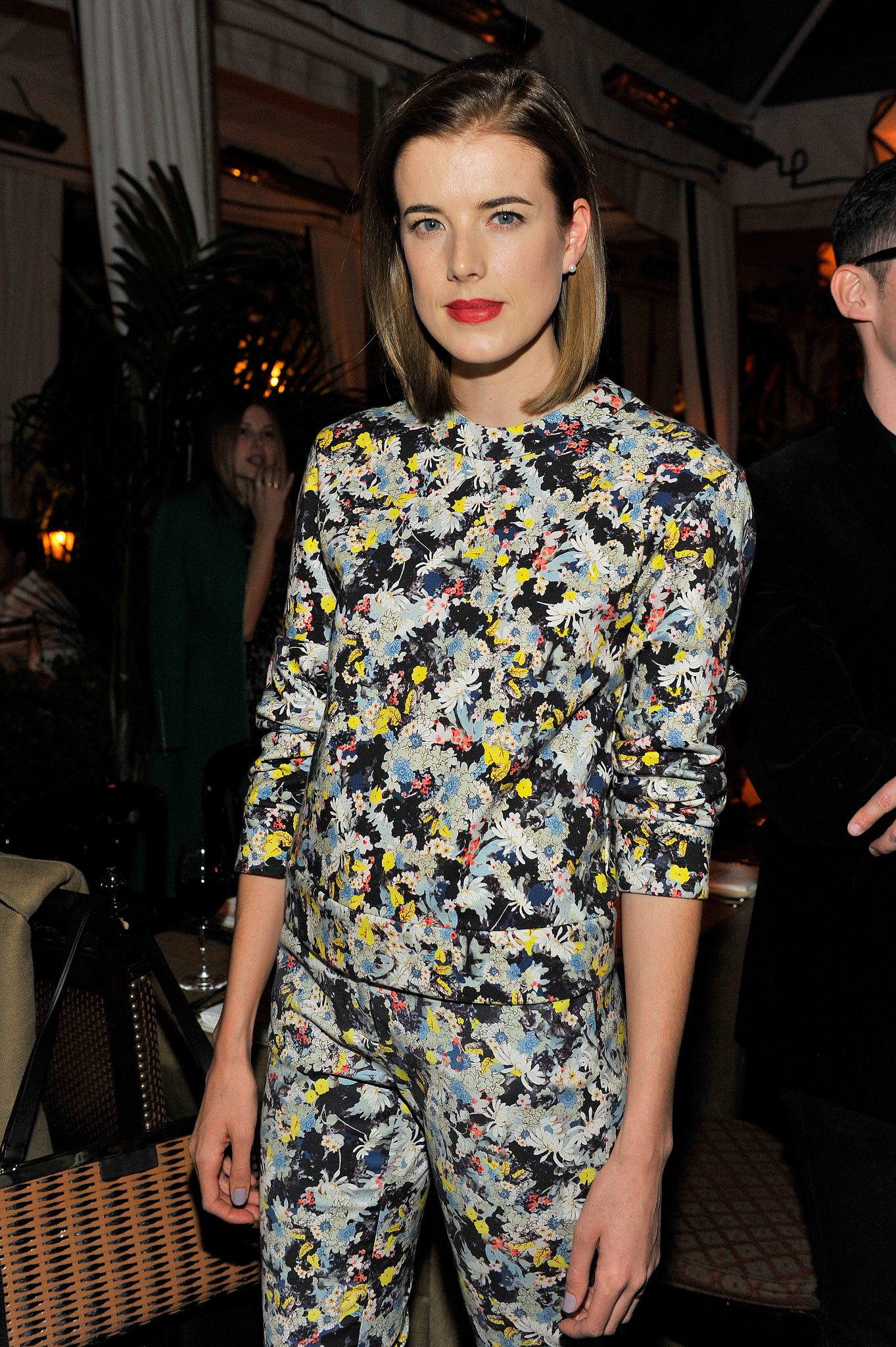 Agyness Deyn at Lisa Love's Erdem dinner.