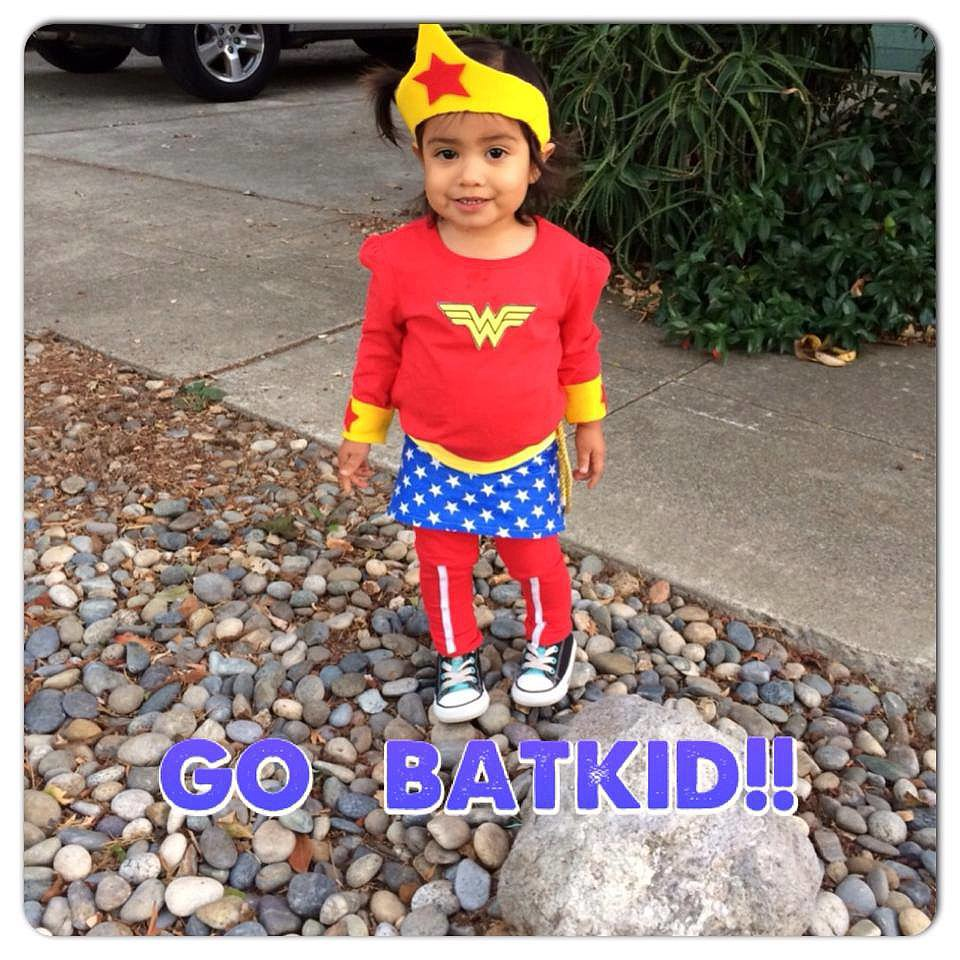 Superheroes unite! Source: Facebook user Batkid Photo Project