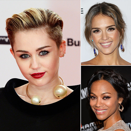 Your Weekend Beauty Inspiration From Miley, Zoe, and More!