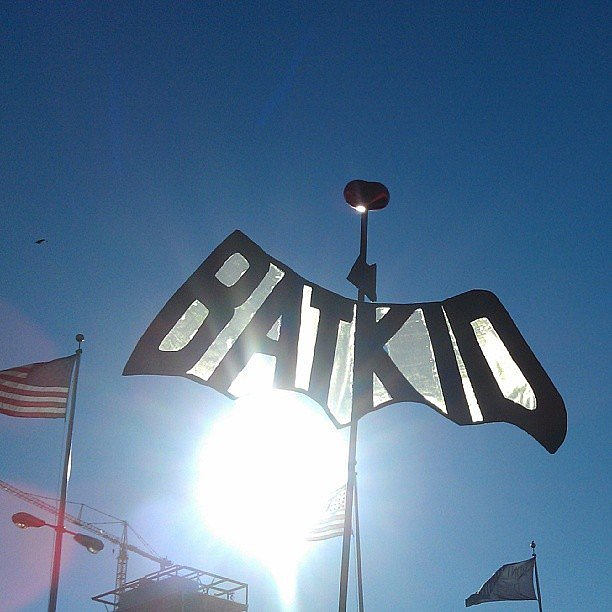 """Batkid"" signs popped up throughout San Franci"