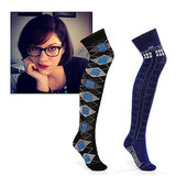 "@juliagazdag Doctor Who Over-the-Knee Socks ($14) ""Because I'm old enough to appreciate a good pair of socks and young enough to fangirl."""
