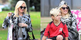 Gwen Stefani Is One Cool Soccer Mom