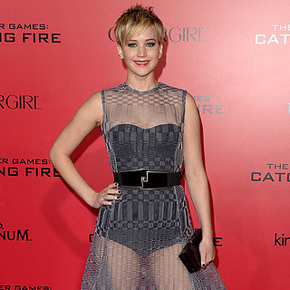 Jennifer Lawrence Catching Fire LA Premiere Dress